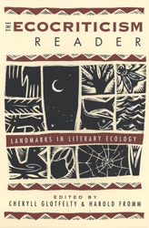 The Ecocriticism Reader by Cheryll Glotfelty
