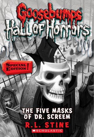 The Five Masks of Dr. Screem by R.L. Stine