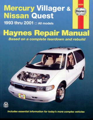 Mercury Villager and Nissan Quest, 1993-2001