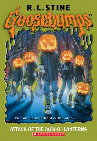 Attack Of The Jack-O'-lanterns by R.L. Stine