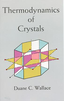 Thermodynamics of Crystals