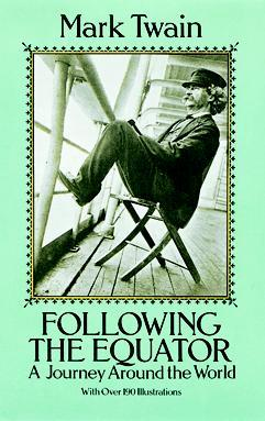 Following the Equator by Mark Twain