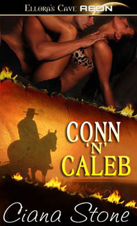 Conn 'n' Caleb (Hot in the Saddle #4)