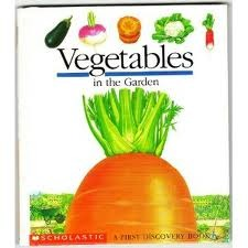 Vegetables in the Garden by Pascale De Bourgoing