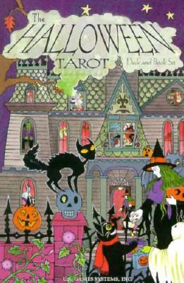 The Halloween Tarot Deck and Book Set by Karin Lee