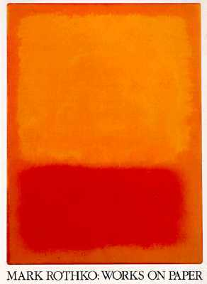 Mark Rothko Works on Paper by Bonnie Clearwater