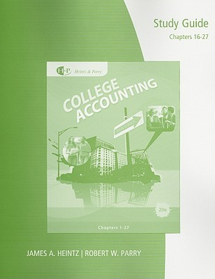 Study Guide with Working Papers, Chapters 16-27 for College Accounting