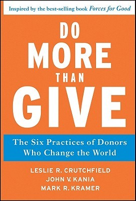 Do More Than Give by Leslie R. Crutchfield