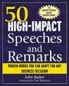50 High-Impact Speeches and Remarks