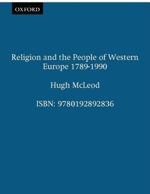Religion and the People of Western Europe 1789-1989