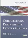 South Western Federal Taxation 2011: Corporations, Partnerships, Estates And Trusts (With H&R Block @ Home Tax Preparation Software Cd Rom, Ria Checkpoint® ... 2 Sememster Printed Access Card)