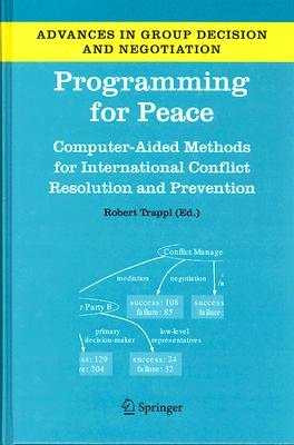 Programming for Peace: Computer-Aided Methods for International Conflict Resolution and Prevention