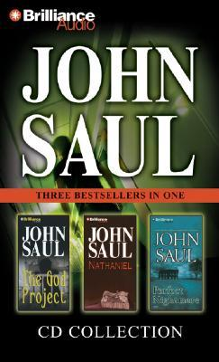 John Saul CD Collection 3: The God Project, Nathaniel, and Perfect Nightmare