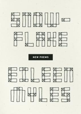 Snowflake / different streets by Eileen Myles