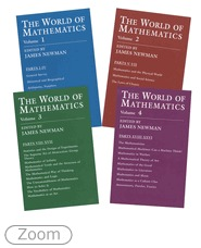 The World of Mathematics Set by James Roy Newman