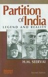Partition of India: Legend and Reality