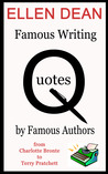 Famous Writing Quotes by Famous Authors from Charlotte Bronte to Terry Pratchet