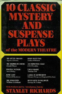 Best Mystery And Suspense Plays Of The Modern Theatre: The Complete Text