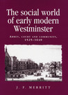 The Social World of Early Modern Westminster