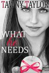 What He Needs (My Alpha Billionaire, #4)