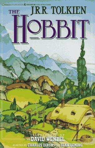 the hobbit jrr tolkien summary