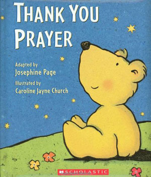 Thank You Prayer by Josephine Page