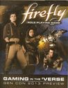 Firefly Role-Playing Game: Gaming in the 'Verse
