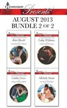 Harlequin Presents August 2013 - Bundle 2 of 2: An Inheritance of Shame\A Royal Without Rules\A Deal with Di Capua\The Rings That Bind