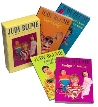 Judy Blume Boxed Set (Fudge-a-Mania / Otherwise Known as Sheila the Great / Tales of a Fourth Grade Nothing / Superfudge)