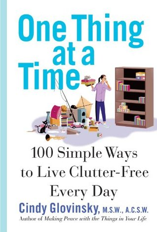 One Thing At a Time by Cindy Glovinsky