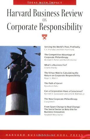Harvard Business Review on Corporate Responsibility