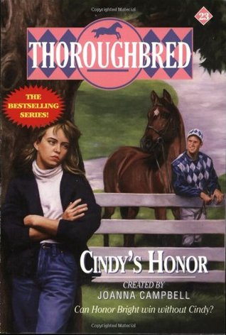 Cindy's Honor (Thoroughbred, #23)
