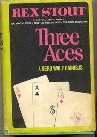 Three Aces by Rex Stout