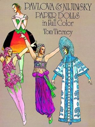 Pavlova and Nijinsky Paper Dolls in Full Color