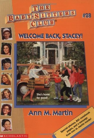 Welcome Back, Stacey by Ann M. Martin