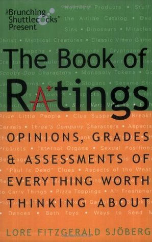 The Book of Ratings by Lore Fitzgerald Sjoberg
