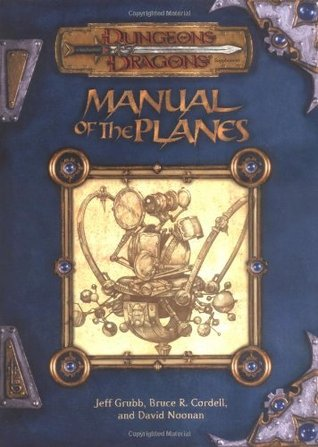 Manual of the Planes by Jeff Grubb