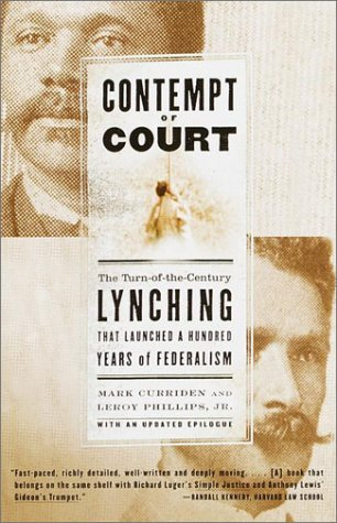 Contempt of Court by Mark Curriden