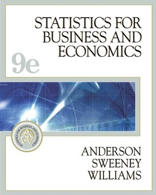 Statistics for Business and Economics [with CD-ROM and InfoTrac]