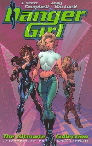 Danger Girl by Andy Hartnell