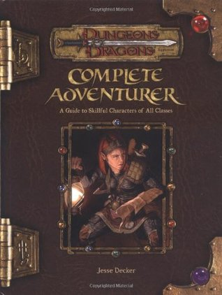 Dungeons & Dragons Supplement: Complete Adventurer (3.5 Edition)