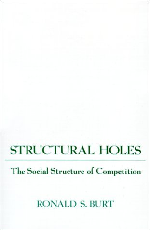 Structural Holes by Ronald Burt