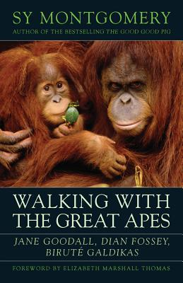 Walking with the Great Apes by Sy Montgomery