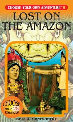 Lost on the Amazon by R.A. Montgomery