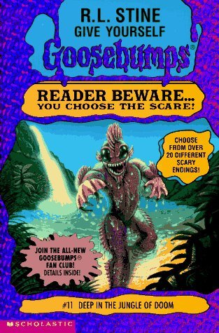 Deep in the Jungle of Doom by R.L. Stine