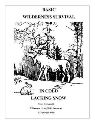 Basic Wilderness Survival in Cold Lacking Snow