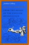 Writing Matter: From the Hands of the English Renaissance