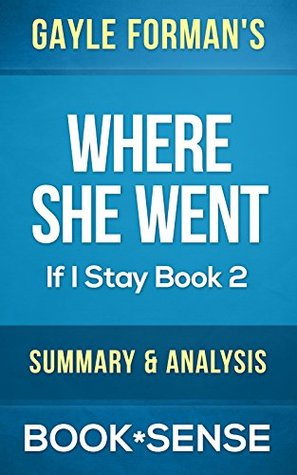 an analysis of the book i was here by gayle forman The paperback of the where she went (if i stay series #2) by gayle forman at barnes & noble  from i was here  to continue to publish books for every reader.