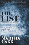 The List (Wallis Jones, #1)