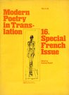 Modern Poetry In Translation 16. Special French Issue